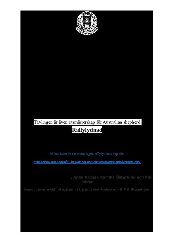 Inbjudan RM 2018 sid 1