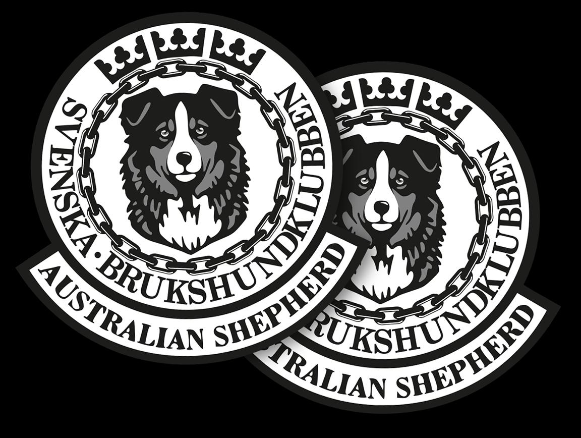 Tygmärke med SASKs logotyp