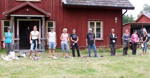 Alla deltagare med hundar, Guldtackan 2014